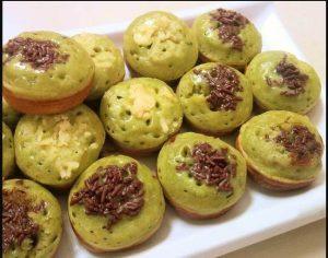 bikin kue cubit variasi coklat meses