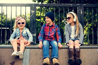 grosir baju anak murah Shopee -Group of Kids Fashionable Cute Adorable Concept