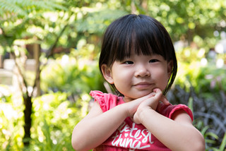 Portrait of beautiful asian child - jual baju anak murah